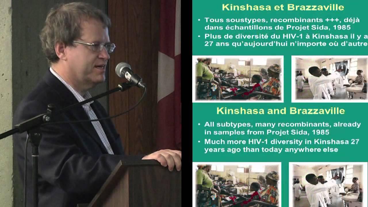 2012-2013 Concordia University  Community Lecture Series on HIVAIDS Les Origines du SIDA