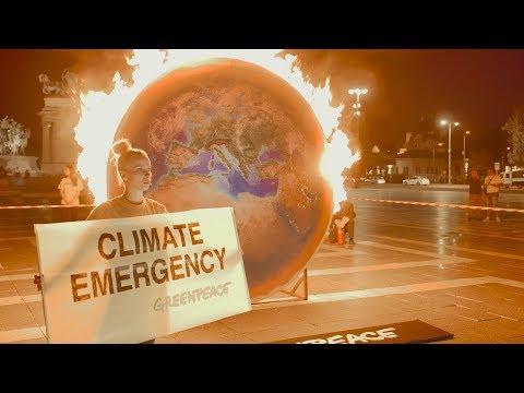 Lángoló Föld – Klímavédelmet Magyarországnak!