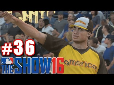 BABE RUTH'S HOME RUN DERBY! | MLB The Show 16 | Road to the Show #36