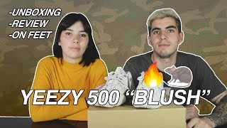 "UNBOXING | YEEZY 500  DESERT RAT ""BLUSH"" 
