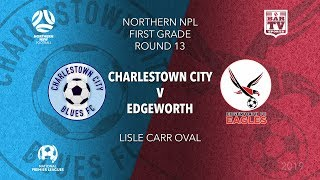 2019 NPL Northern NSW u20s and 1st Grade Round 13 Charlestown City Blues v Edgeworth Eagles
