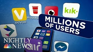 Teens Are Spending Hours On This Video Chat App | NBC Nightly News