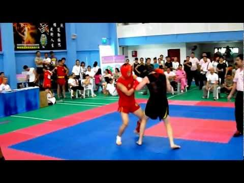 Sanshou 散打 Chinese Kickboxing in Singapore International Traditional Wushu Competition 2012 Image 1