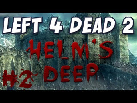 Yogscast - Left 4 Dead 2 - Helm's Deep Part 2 - The Wall of Fire