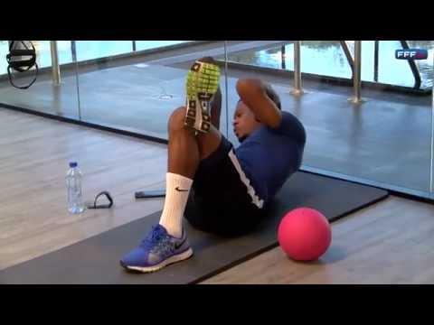 Gainage et musculation avec Patrice Evra