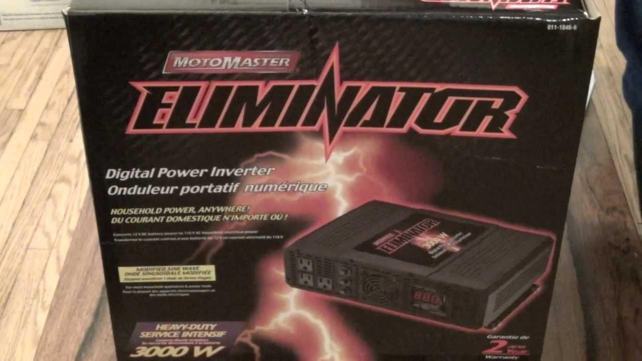 Motomaster Eliminator 3000w Digital Power Inverter 011