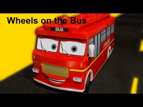 Muffin Songs - Wheels On The Bus | Nursery Rhymes & Children Songs With Lyrics video
