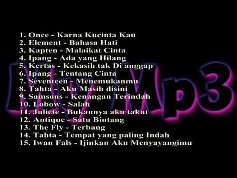 Lagu POP Pilihan Terbaik Tahun 2000an Indonesia ¦ Lama  Lawas  ¦ Populer ¦ Romantis (My Mp3)