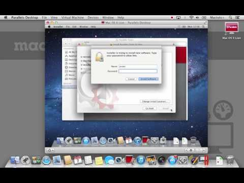 Install Two Versions of OS X on One Mac Using Parallels
