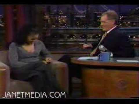 janet on letterman