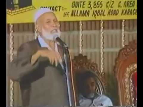 Does God Exist? Best Reply Ever By Shaikh Ahmed Deedat video