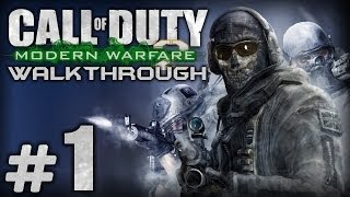 Прохождение Call of Duty: Modern Warfare 2 - Миссия №1 - Д.Д.Б.Т.