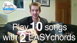 Download Lagu Play TEN guitar songs with two EASY chords | Beginners first guitar lesson Gratis STAFABAND