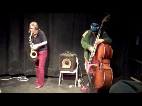 Ingrid Laubrock, William Parker  Clemente Soto Velez 3-3-14 1 2 video