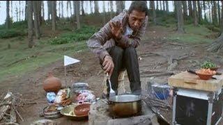 Aditya savours Dogri cuisine in Jammu
