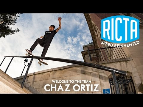 Welcome to the Team: Chaz Ortiz