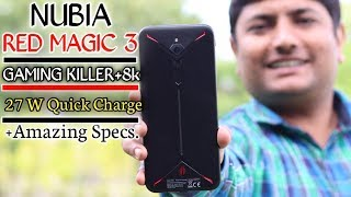 Nubia Red Magic 3 Unboxing & Quick Review In Hindi | Best Smartphone For Heavy gaming 🎮