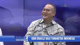 Talk Show Halo Indonesia | KBBI Braille Bagi Tunanetra Indonesia (2)