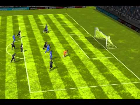 FIFA 14 iPhone/iPad - Zorras FC vs. Chunnam Dragons