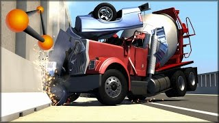 BeamNG Drive Random Vehicle #33 Crash Testing #145
