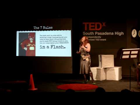 How to Start or Grow a Creative Life | Mende Smith | TEDxSouthPasadenaHigh
