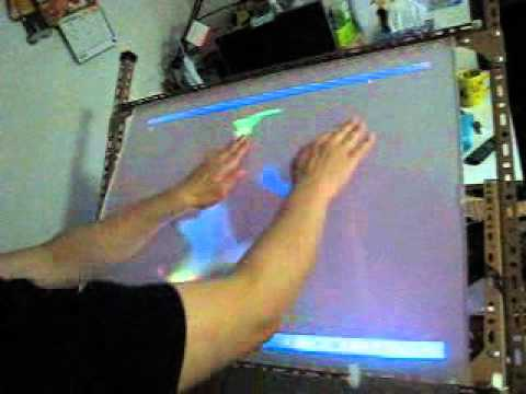 Multitouch Projection table - multitouch apps development (2)