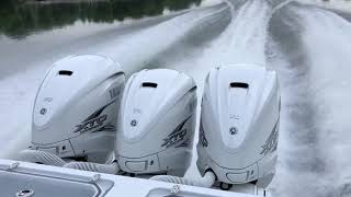 Running the Yamaha 425 hp XTO Outboard