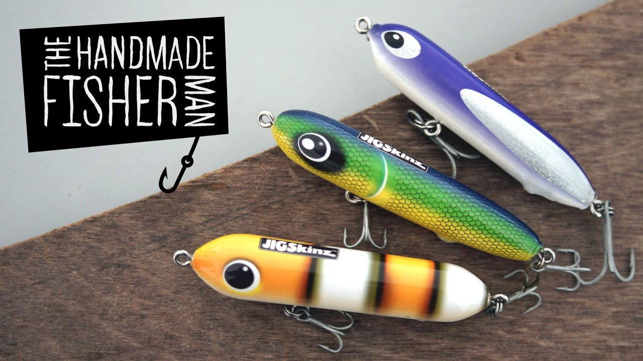 Making hard plastic fishing lures on the lathe part 1 for Fishing lure making