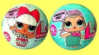 Mermaid LOL Dolls Surprise Mystery Balls by Funtoys