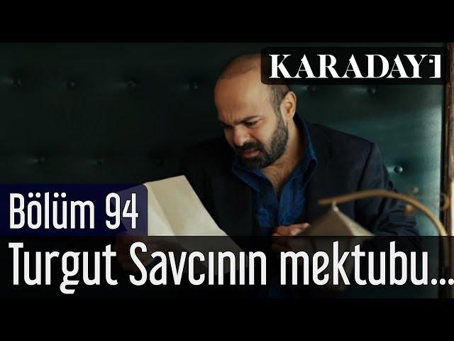 Karadayı 94.Bölüm | Turgut Savcının mektubu Necdet'in eline geçer