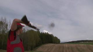 Trickshooting with Benelli M2 filmed by Kristoffer Clausen