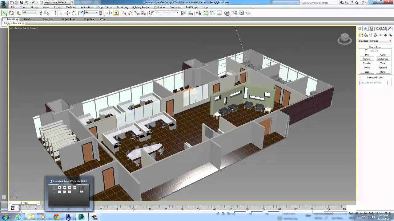 Building design suite workflow how to iterate designs for Decoration 3ds max