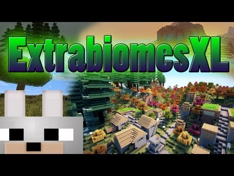 Minecraft Mods - ExtrabiomesXL 1.3.2 Review and Tutorial