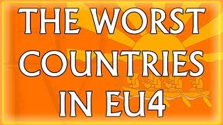 Top 10 Worst Countries in EU4