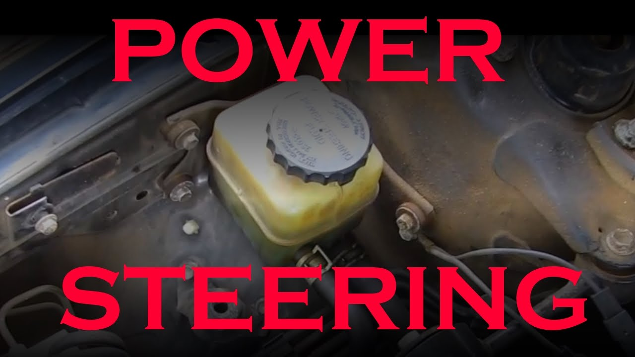 Toyota Power Steering Fluid Change Youtube