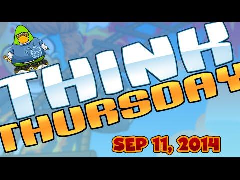 Club Penguin: Think Thursday - September 11, 2014
