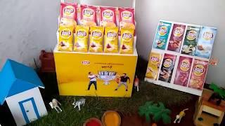 Mini Lay's Chips | Miniature Cooking | Mini Food | Thin Potato Chips