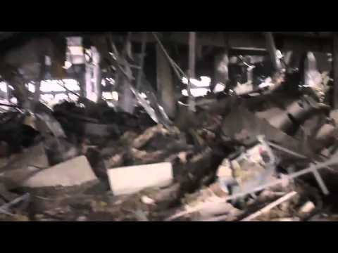 Ukraine War   Donetsk Airport after Ukraine s retreat and full capture by pro Russia rebels