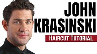 John Krasinski Haircut Tutorial - TheSalonGuy