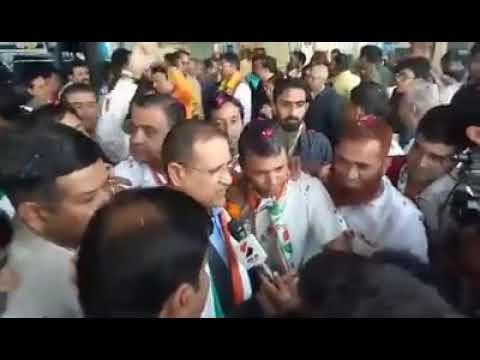 Rameshwar ji dudi भव्य स्वागत गुजरात मे