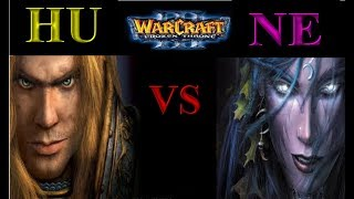 Warcraft 3 1vs1 #133 Human vs Nightelf [Deutsch/German] Let's Play WC3 The Frozen Throne