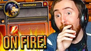 Asmongold Reacts to AZEROTH ON FIRE by UberDanger | World of Warcraft Classic