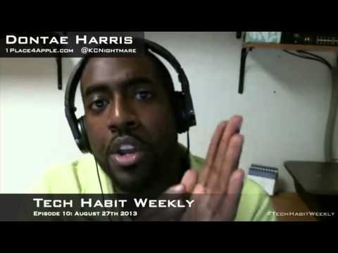 Tech Habit Weekly Episode: 10 Ballmer Steps Down, Giant Phones, & Flashbacks