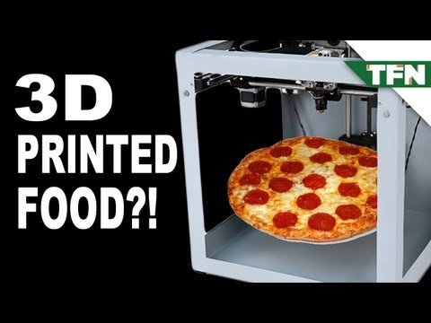 3D Printed Food Coming Soon?