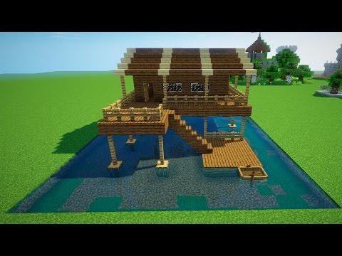 Как в minecraft сделать дом под водой
