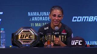 UFC 237: Post-fight Press Conference Highlights