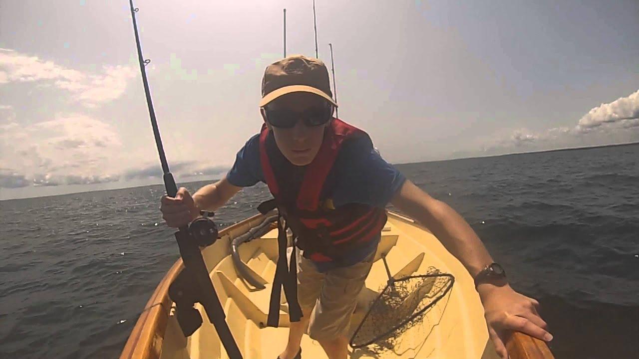 Fluke fishing in long island sound youtube for Long island sound fishing report