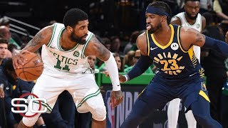 NBA Film Room: Kyrie Irving's ability to close overpowers the Pacers | SportsCenter