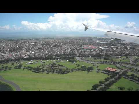Manila International Airport, Landing at Manila' s very crowded airport, Philippines
