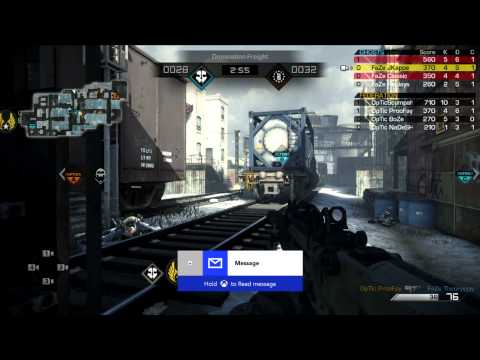 Scuf Gaming Showdowns OpTic Gaming vs FaZe Red Game 1 Side 1 May 8 2014